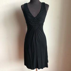 Banana Republic sz S cute woven flare dress